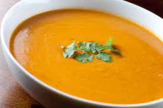 Red Lentil, Chickpea and Chilli Soup for Autumn At The Weight Loss Camp