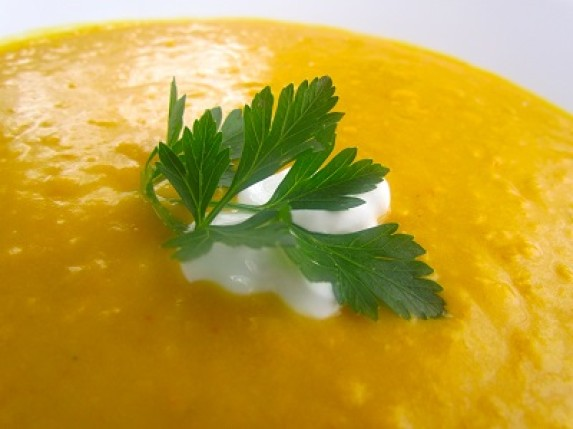 A Warm and Healthy Soup for Autumn