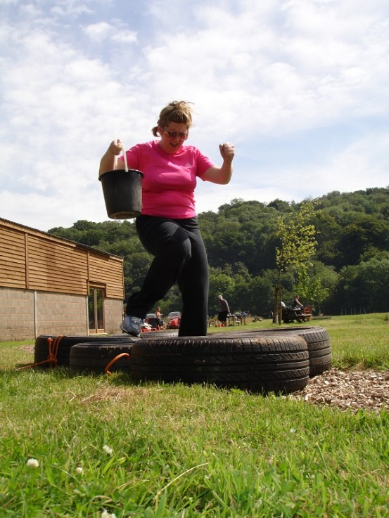Weight Loss Boot Camp Obstacle Course