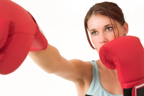Boxing and Walking – Matlock Weight Loss Camp Day, 1 July 2015