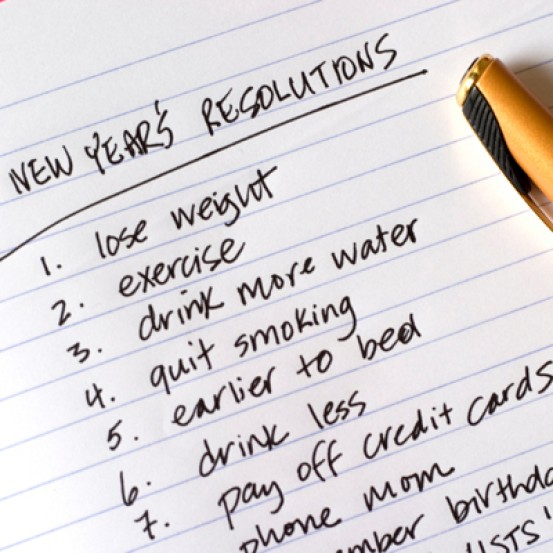 Fitness New Years Resolutions