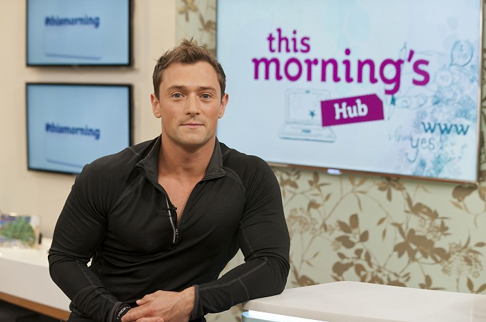 Justin Lord ITV's Fitness Guru Delivers Your Programme